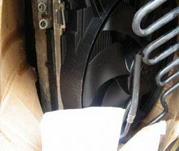 MERCEDES SLK W171 комплект радиаторов вентилятор