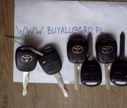 ключи зажигания Toyota